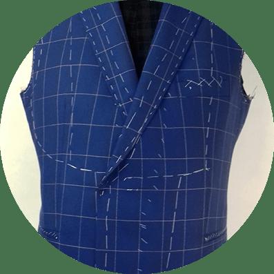 nowoczesny garnitur